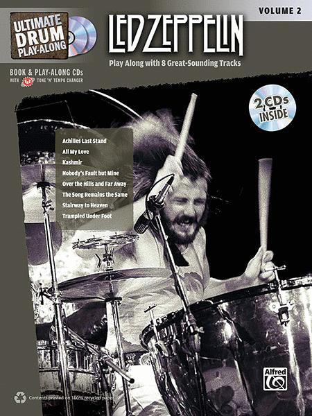 Ultimate Drum Play-Along Led Zeppelin, Volume 2