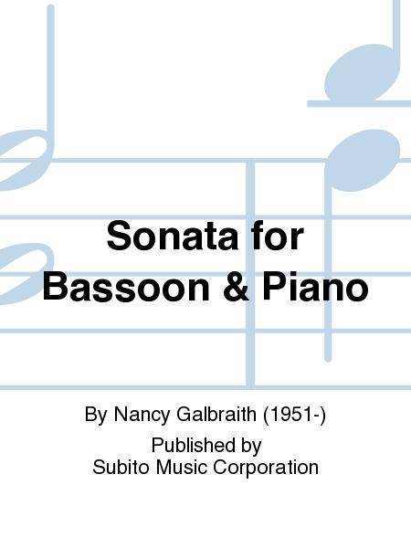Sonata for Bassoon & Piano