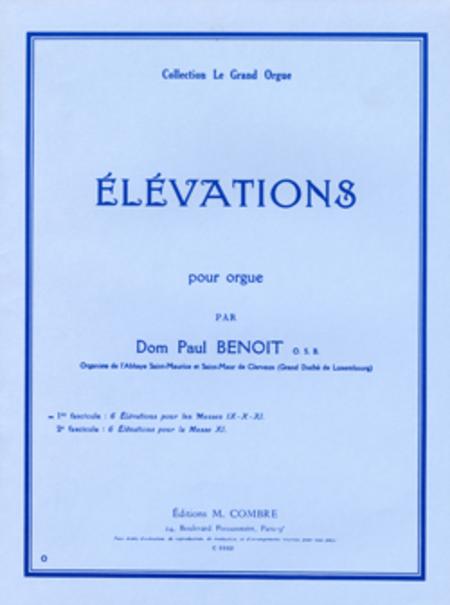 Elevations pour les Sanctus des Messes IX-X-XI (6)