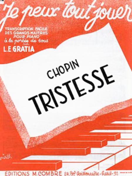 Etude Op.10 no. 3 Tristesse (JPTJ14)