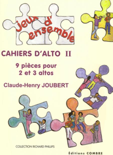 Cahiers d'alto II