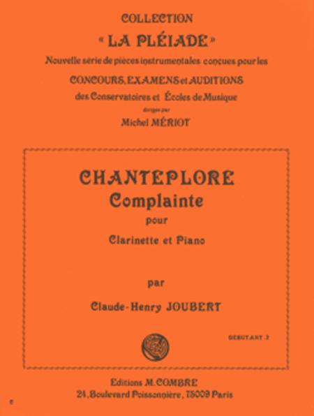 Chanteplore (complainte)