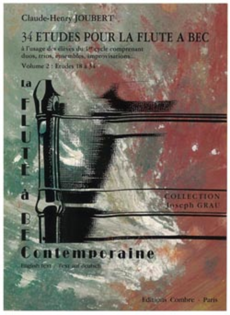 Etudes pour la flute a bec (34) Vol. 2 (18-34)