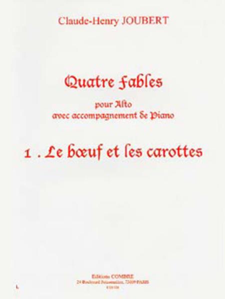Fables (4), No. 1 Le Boeuf et les carottes