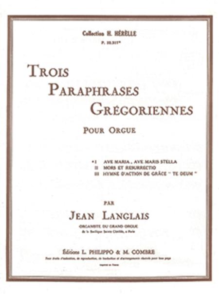 Paraphrase gregorienne no. 1 : Ave Maria, Ave Maris Stella