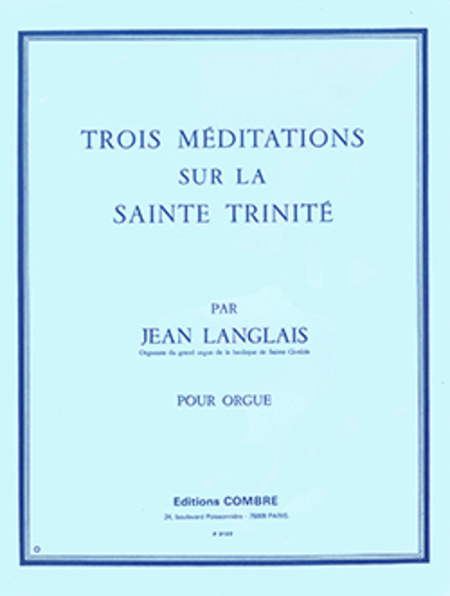Meditations sur la Sainte Trinite (3)