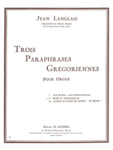 Paraphrase gregorienne no. 2 : Mors et resurrectio