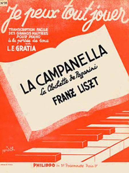 La Campanella (la clochette de Paganini) (JPTJ98)