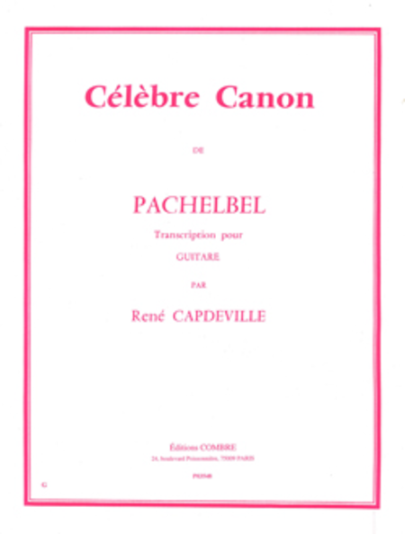 Celebre canon