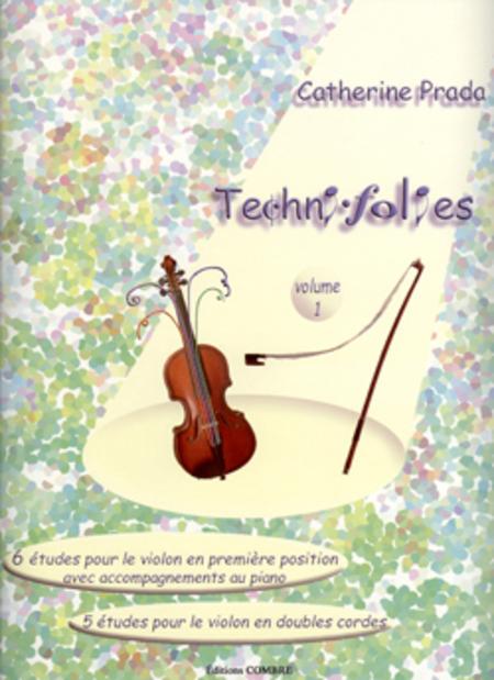 Techni-folies Vol. 1 (6 et 5 etudes)