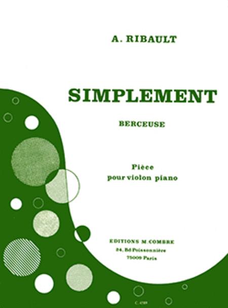 Simplement (berceuse)