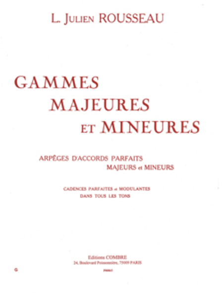 Gammes majeures et mineures
