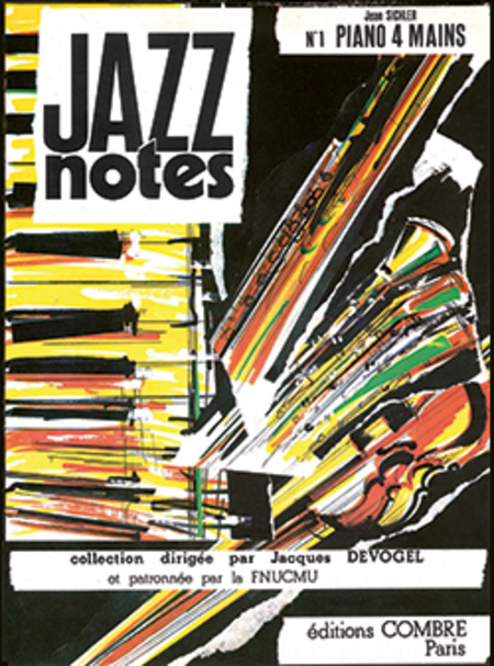 Jazz Notes Piano 4 mains 1 : Pommes sautees - Amende douce
