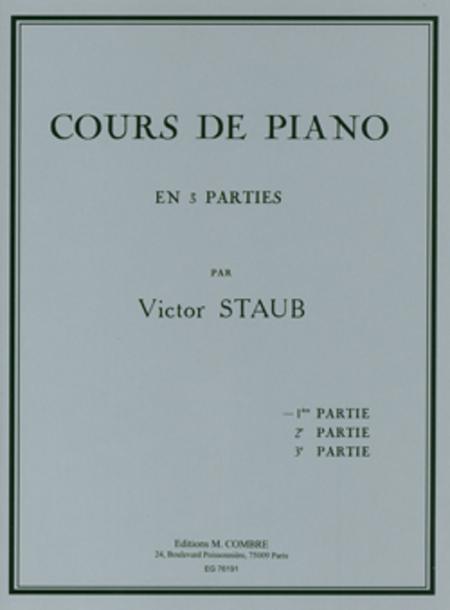 Cours de piano Vol. 1