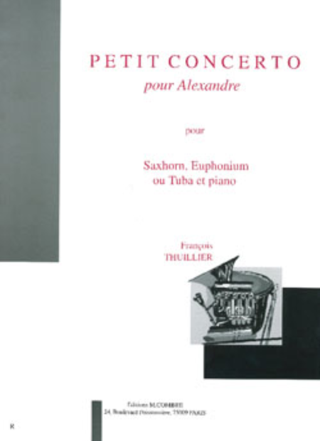 Petit concerto pour Alexandre