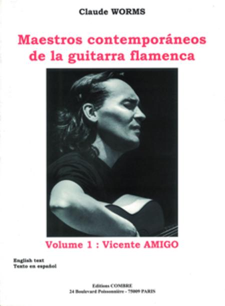 Maestros contemporaneos Vol. 1 : Vincente Amigo