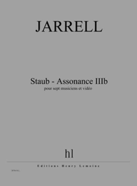 Staub - Assonance IIIb