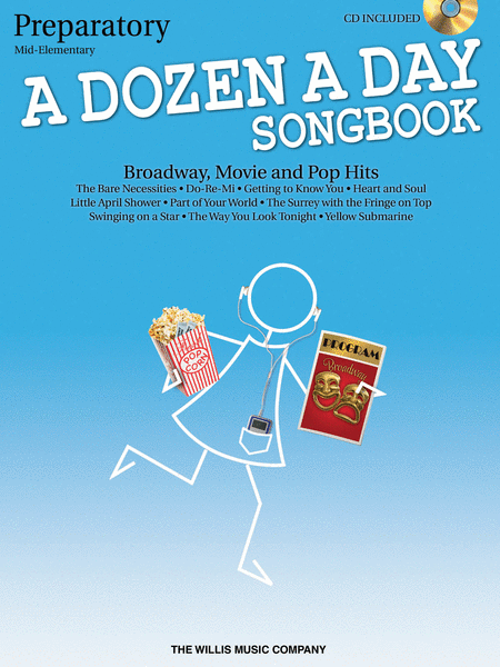 A Dozen a Day Songbook - Preparatory Book