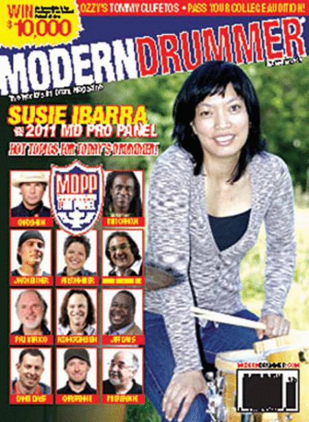Modern Drummer Magazine December 2010