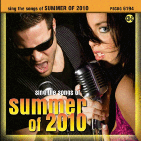 Sing the Songs of Summer of 2010 (Karaoke CDG)