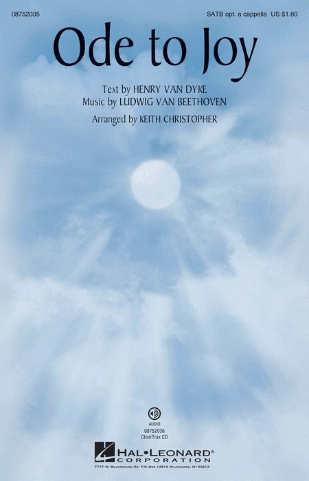 Ode to Joy - ChoirTrax CD