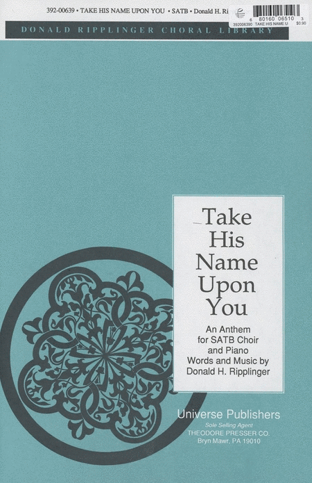 Take His Name Upon You