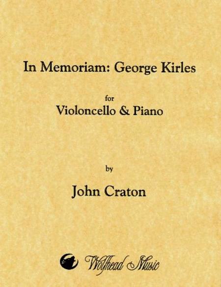 In Memoriam: George Kirles