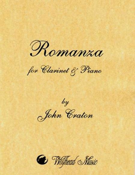 Romanza for Clarinet and Piano