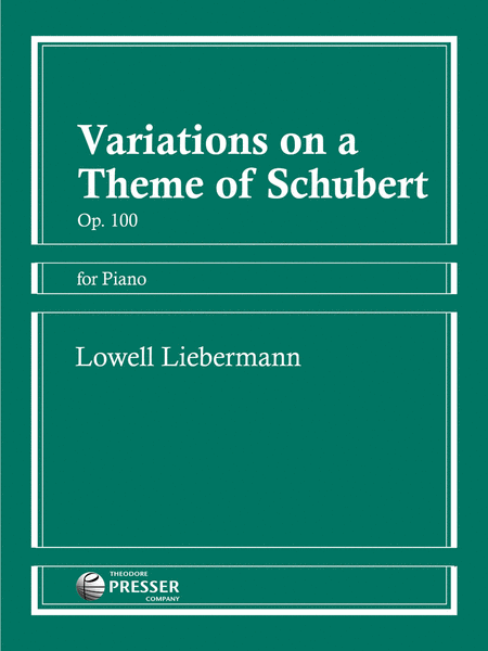 Variations On A Theme Of Schubert, Op. 100