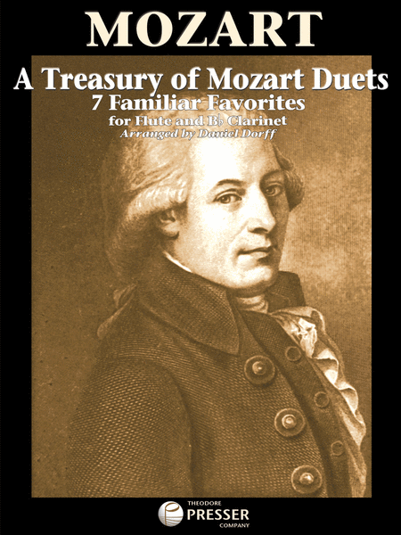 A TREASURY OF MOZART DUETS