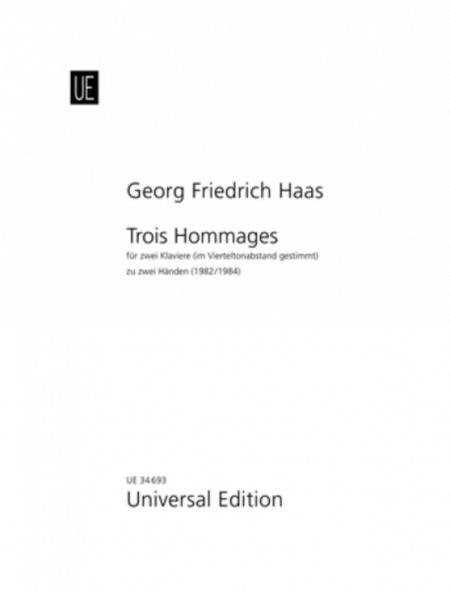 Trois Hommages