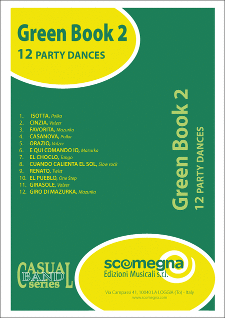 Green Book Vol. 2 - 12 Dance Numbers