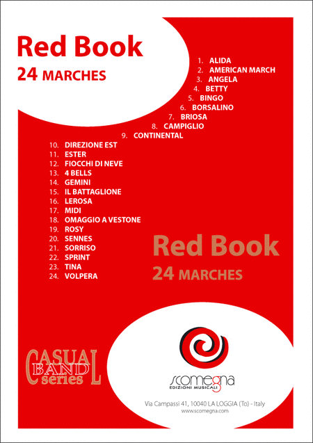 Red Book Vol. 1 - 24 Marches