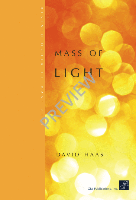 Mass of Light - Choral / Accompaniment Edition