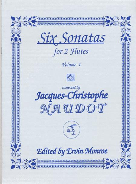 Six Sonatas for 2 Flutes. Volume 1, Nos. 1-3