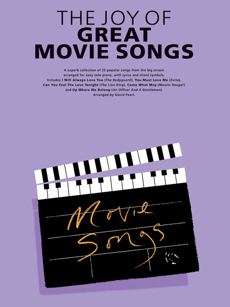 The Joy of Great Movie Songs