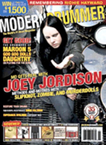 Modern Drummer Magazine January 2011