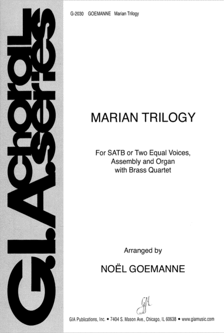 Marian Trilogy - Instrument parts