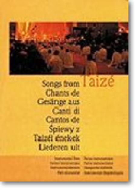 Chants de Taize (Songs from Taize) - Guitar book