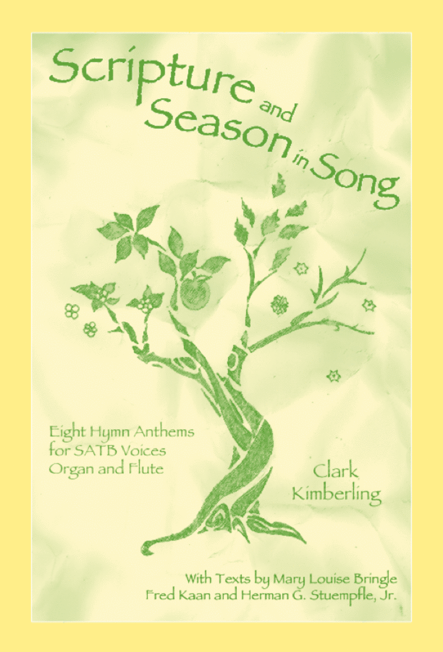 Scripture and Season in Song (Flute part)