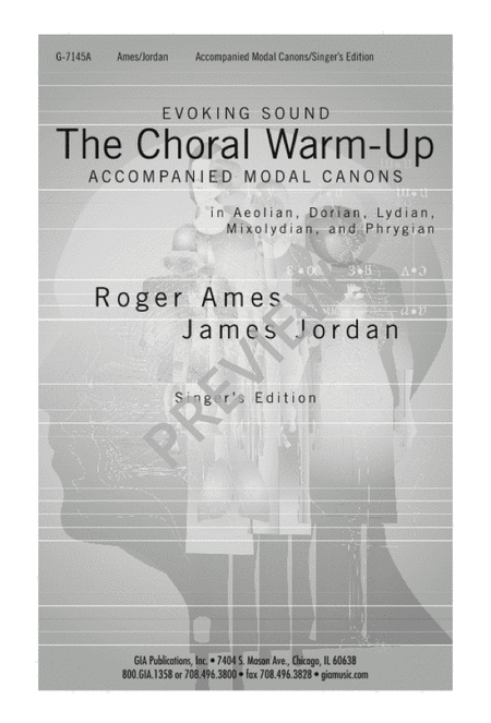 The Choral Warm-Up: Accompanied Canons for Choirs: Singer's Edition