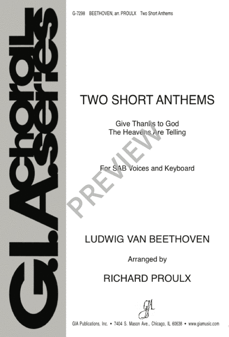 Two Short Anthems