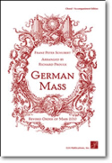 German Mass - Choral / Accompaniment edition