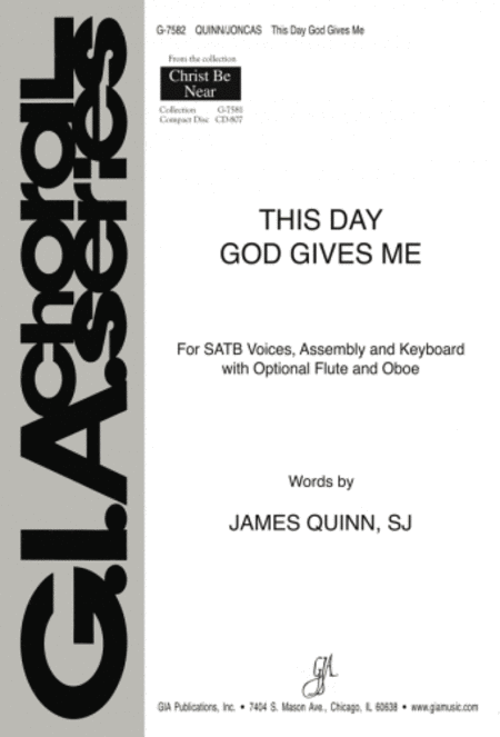 This Day God Gives Me - Instrument edition