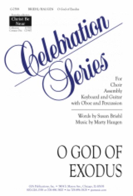 O God of Exodus - Instrument edition