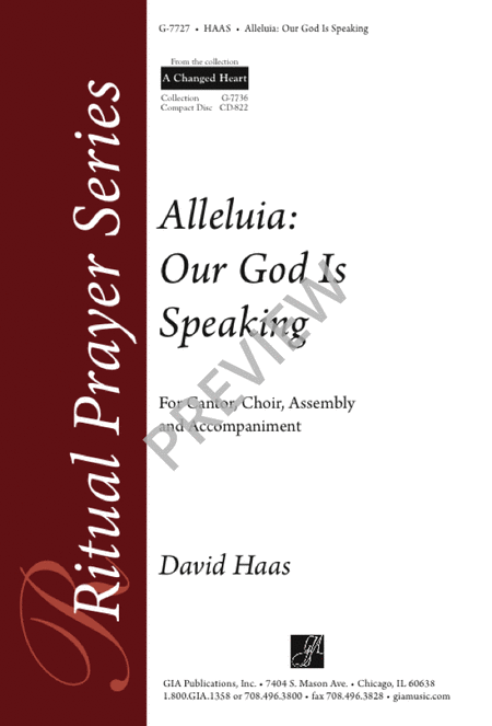 Alleluia: Our God Is Speaking