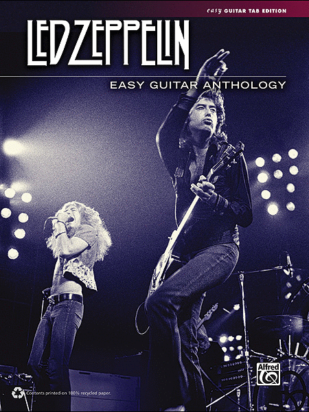 Led Zeppelin -- Easy Guitar Anthology
