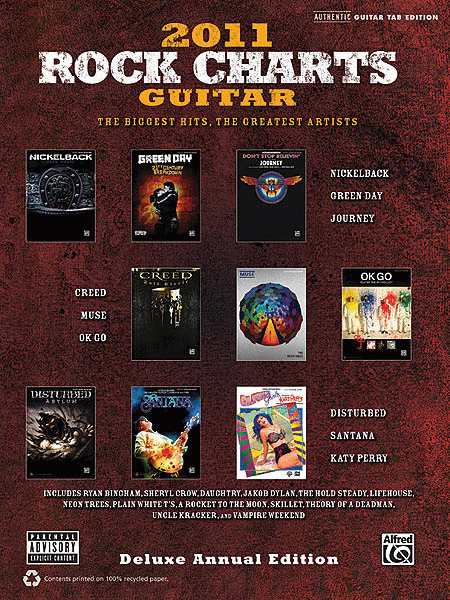 Rock Charts Guitar 2011 - Deluxe Annual Edition