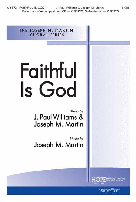 Faithful Is God