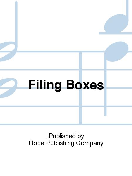 Filing Boxes